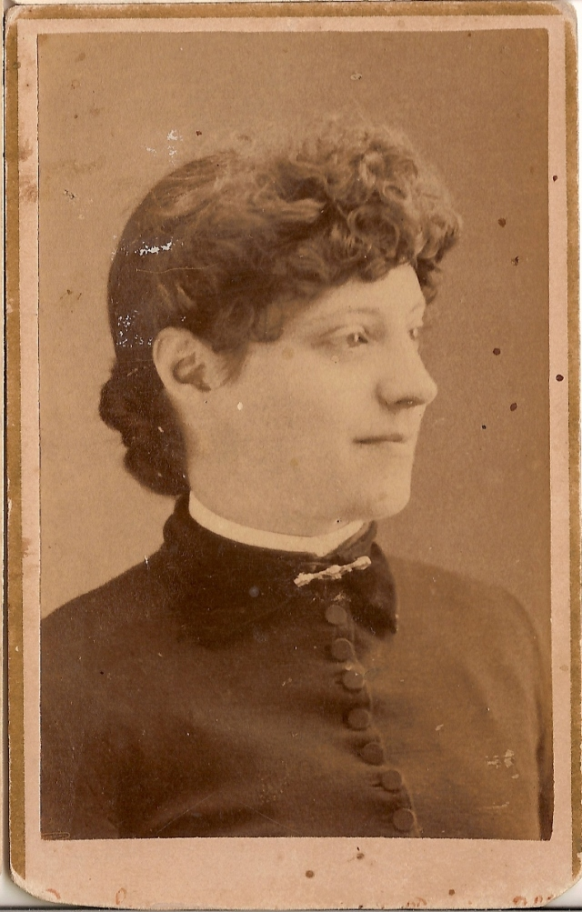 Minnie (Hill) Arnold was 42 when she passed away in 1908