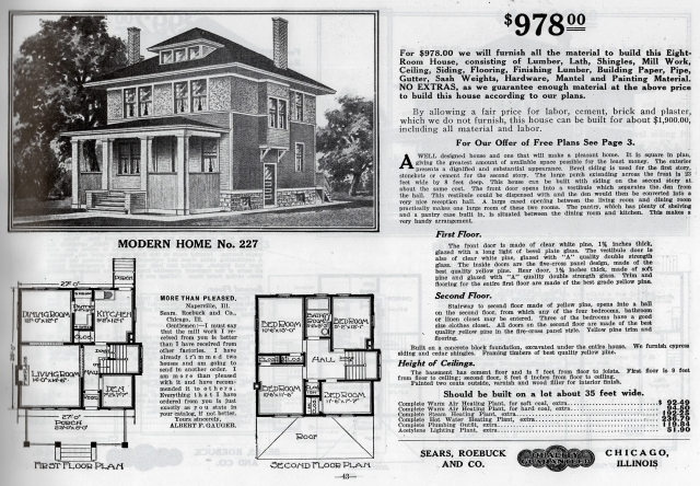 Modern Home No. 227 from 1913